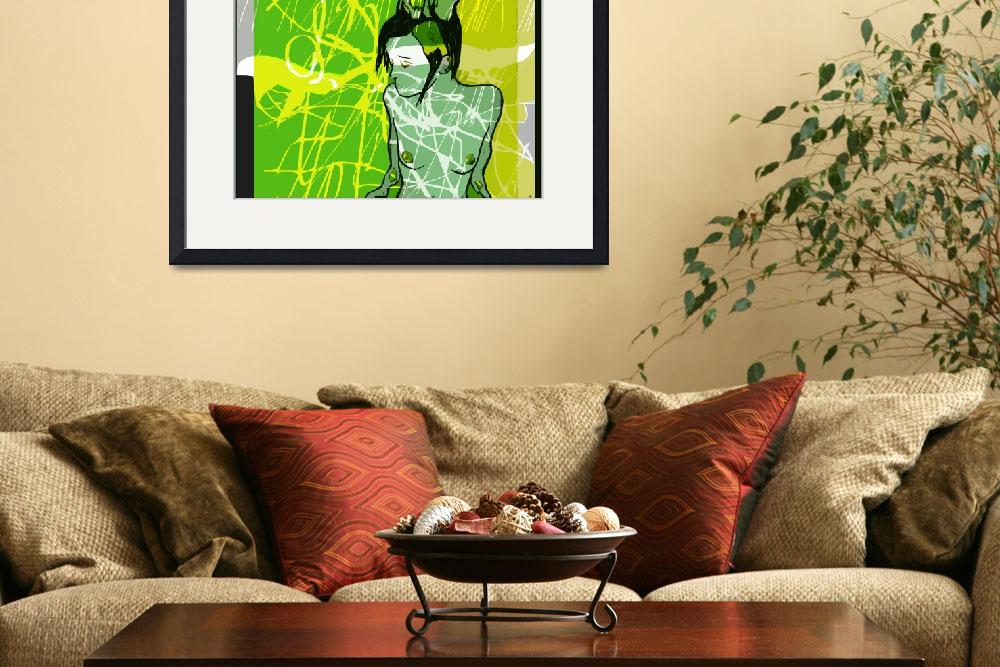 """""""Girl with Lime&quot  (2013) by willoughby"""