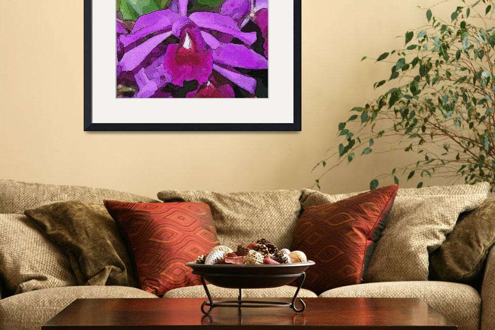 """""""Painted Orchid""""  (2007) by LunarImage"""