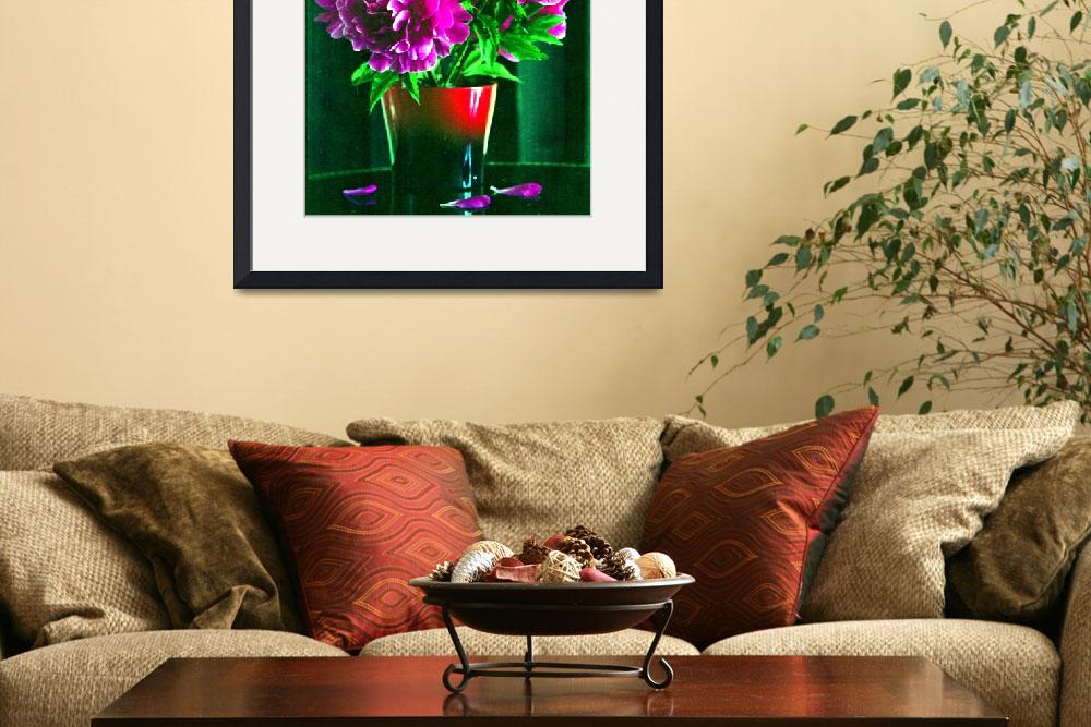 """""""peonies&quot  by gmart"""