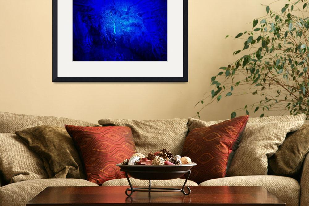 """""""Blue Light""""  (2009) by Kimmary"""