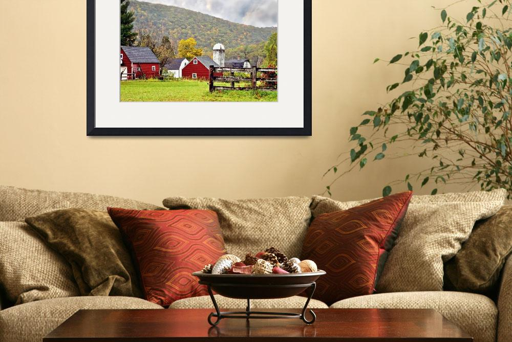 """""""Farmhouse in Kent&quot  (2010) by LauraD"""