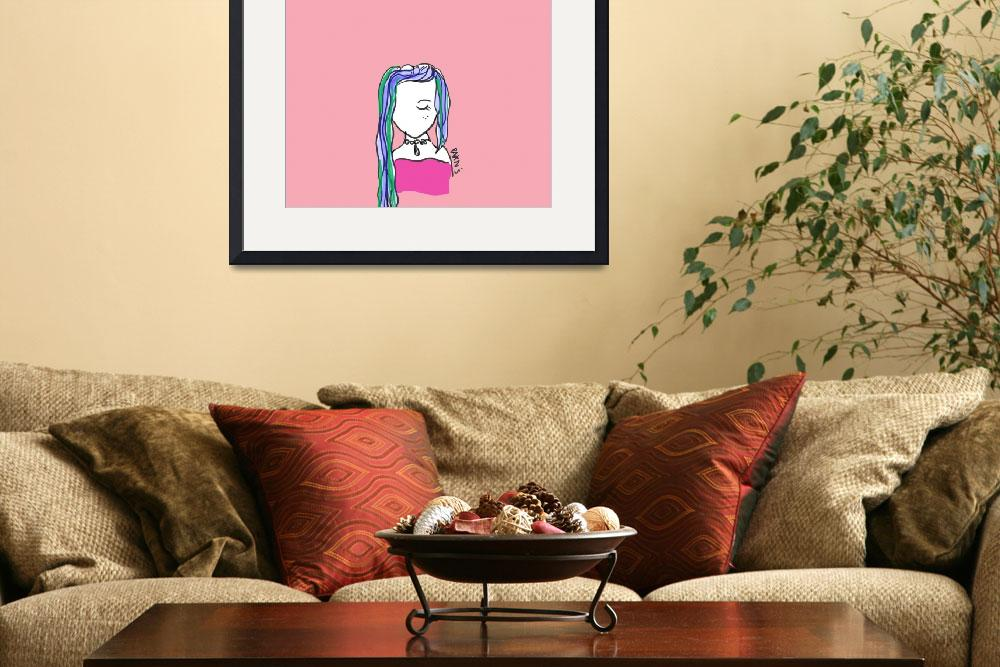 """""""PinkGirl&quot  by parns"""
