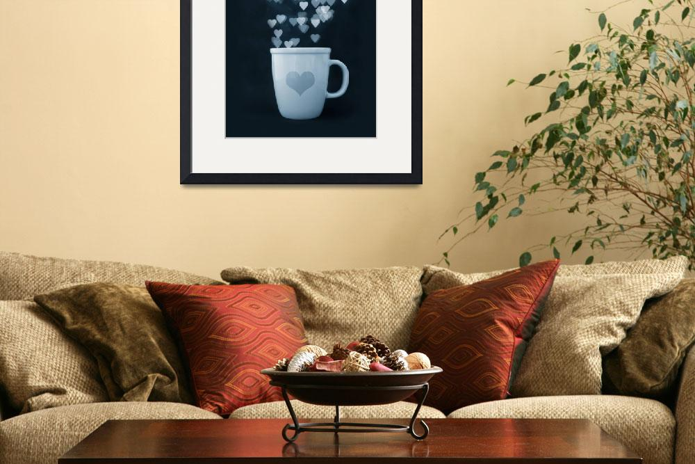"""""""Tea : Love : Coffee&quot  (2009) by limaria"""