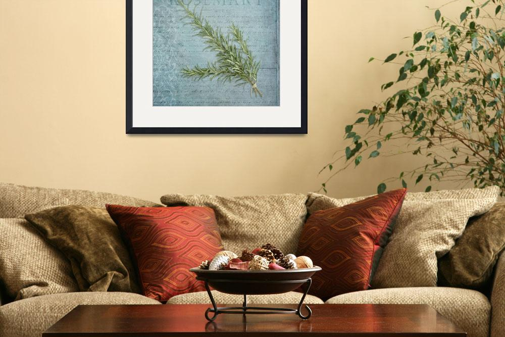 """""""Classic herbs series: Rosemary&quot  (2012) by CoraNiele"""