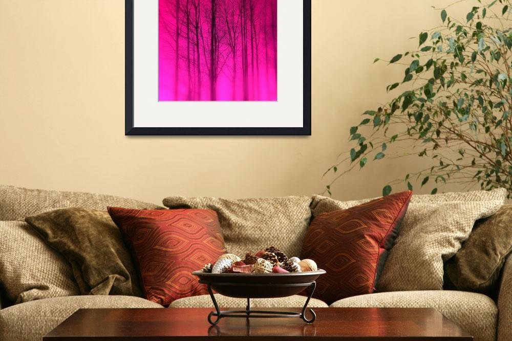 """""""Pink Trees&quot  (2009) by MadisonRose"""