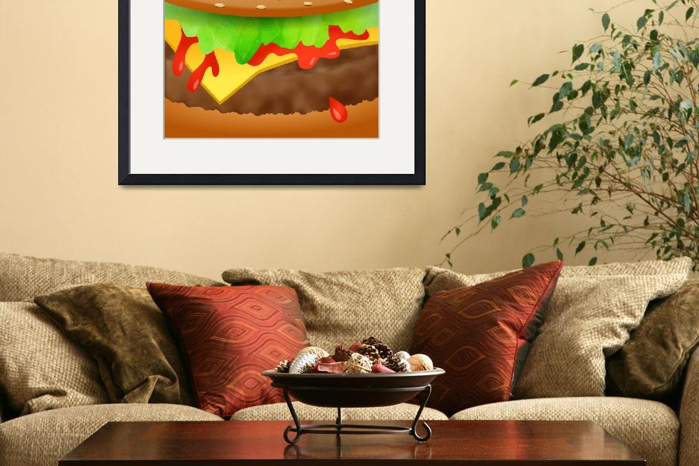 """""""Close Encounters of the Cheeseburger&quot  by Prawny"""