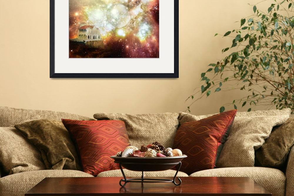 """""""House in the Andes that Hubble did not see""""  (2008) by GardGallery"""