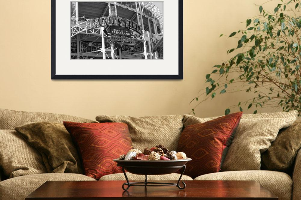 """""""Jacobs Field - Cleveland Indians&quot  (2002) by Ffooter"""