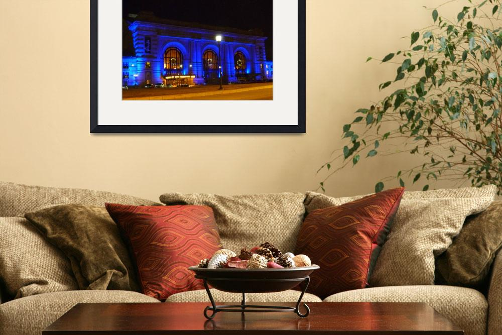 """""""Union Station on a Holiday Night""""  (2013) by TaylorMadeArtUS"""