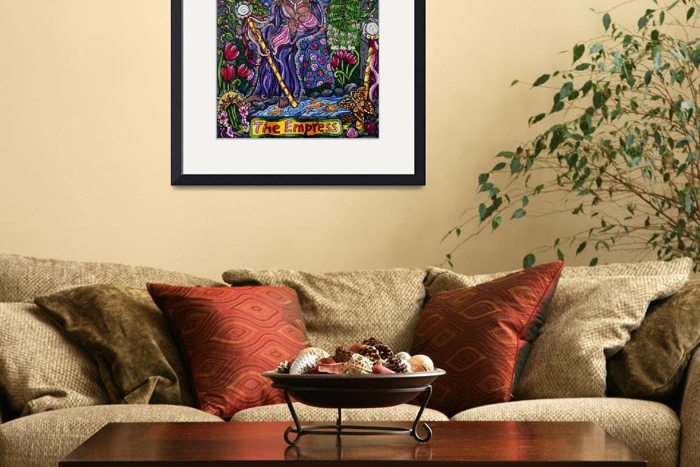 """""""3 The Empress&quot  (2007) by RoxiArtWork"""