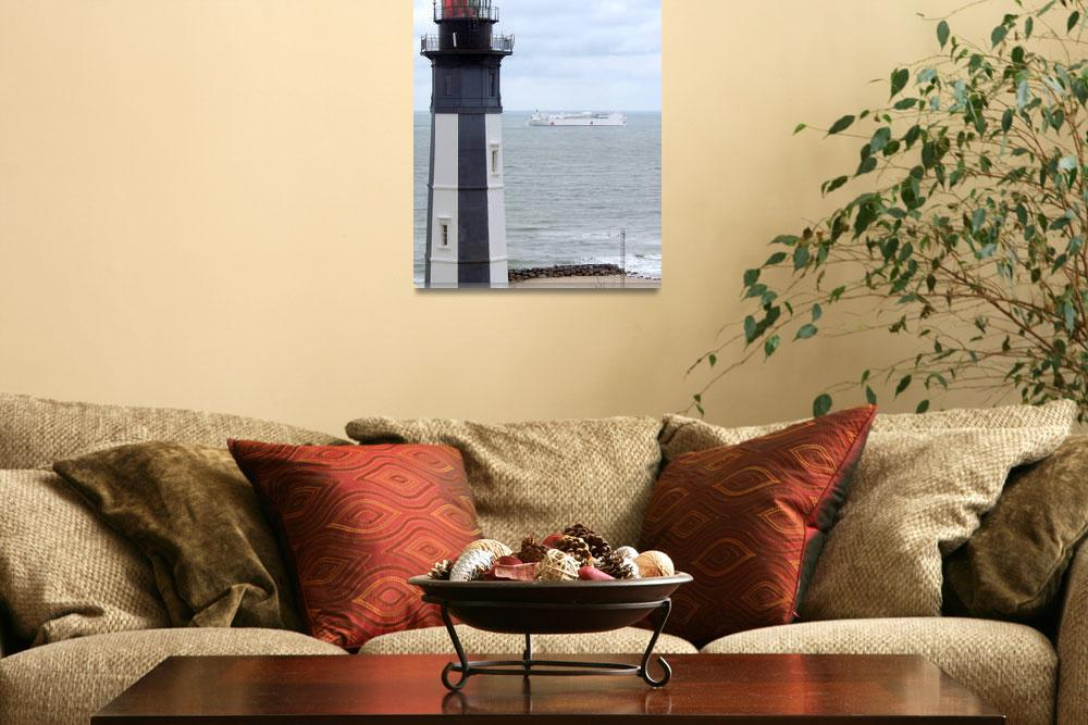 """""""Cape Henry Lighthouse&quot  (2007) by Alleycatshirts"""