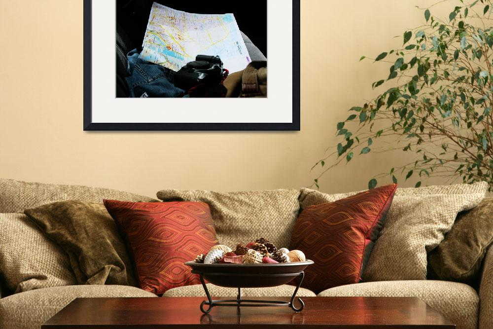 """""""Map and Camera in hand&quot  by michellebeltranphoto"""