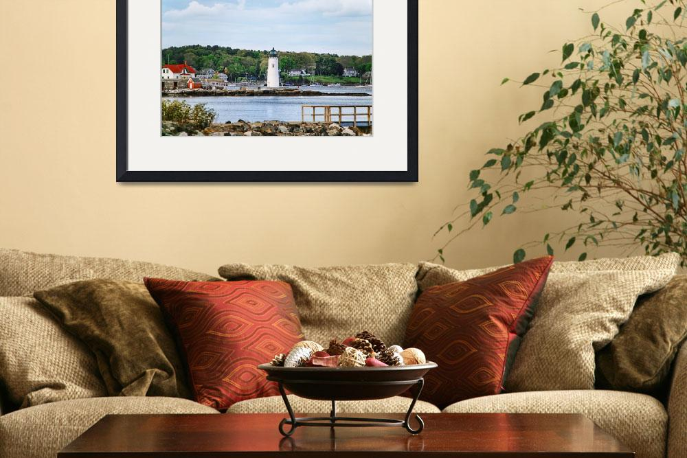 """""""Portsmouth Harbor Lighthouse""""  (2006) by digitalvisions"""