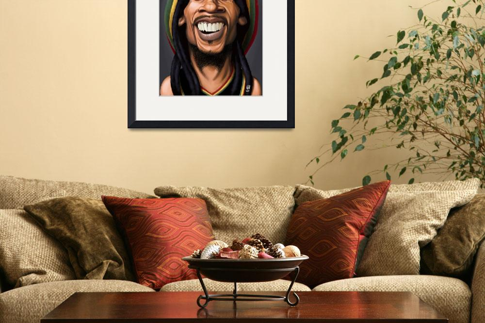 """""""Bob Marley&quot  (2015) by rob_snow"""