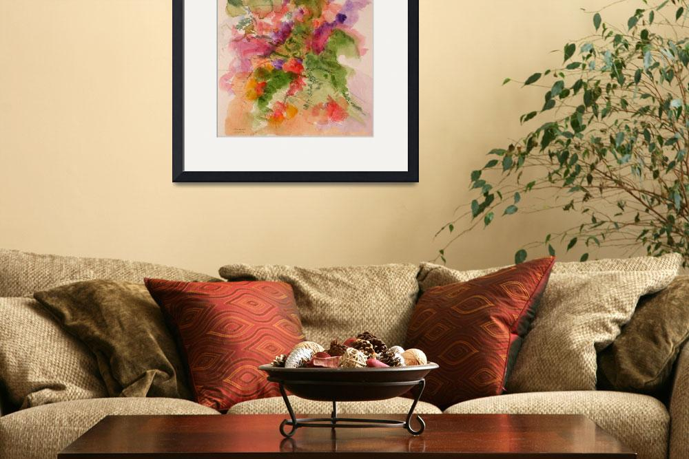 """""""Coral Bouquet&quot  (2006) by MannellGallery"""