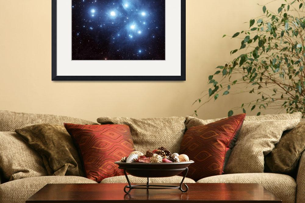"""""""The Pleiades Star Cluster&quot  by stocktrekimages"""