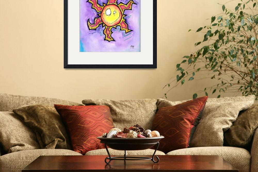 """""""Happy Sun&quot  (2005) by mbooth"""