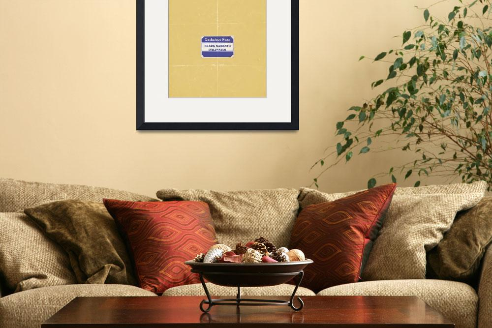 """""""Almost Famous minimalist movie poster&quot  (2012) by HunterLangston"""
