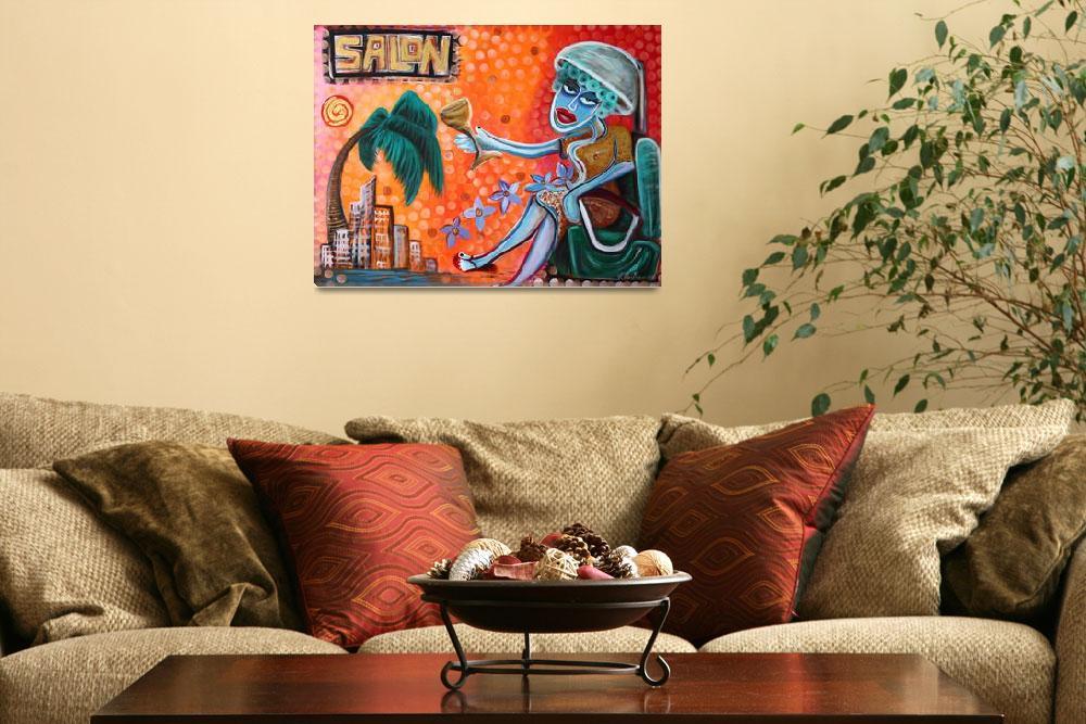 """Salon""  (2009) by ArtPrints"