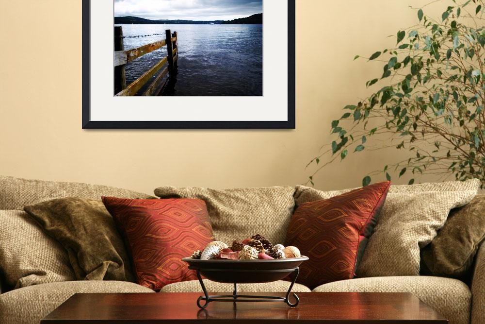 """Lake Windermere High Contrast&quot  (2009) by Pmac2k"