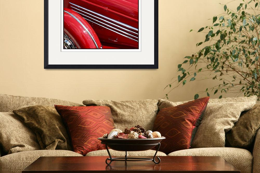 """""""Classic Car Red 07.13.07_308&quot  (2007) by paulhasara"""
