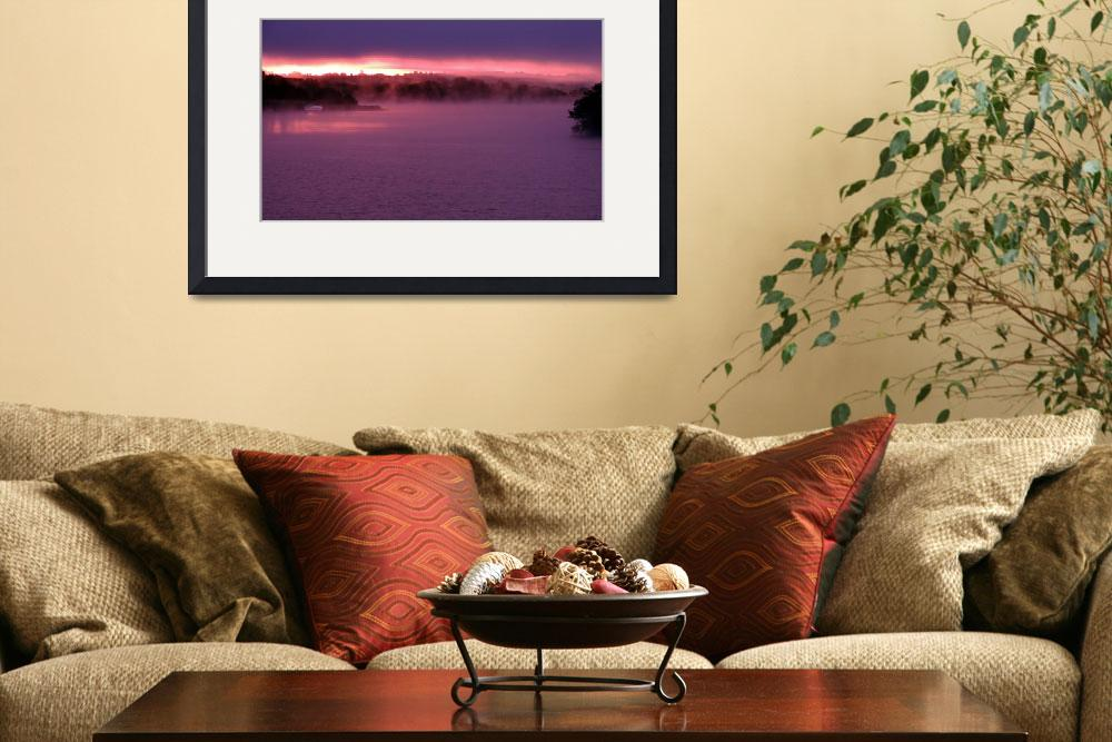 """""""Sunrise on Lough Erne&quot  (2012) by JMcCoubreyPhotography"""