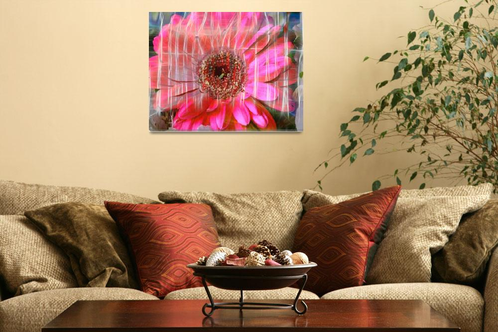 """""""Pink Reflections""""  (2009) by artforcancer"""