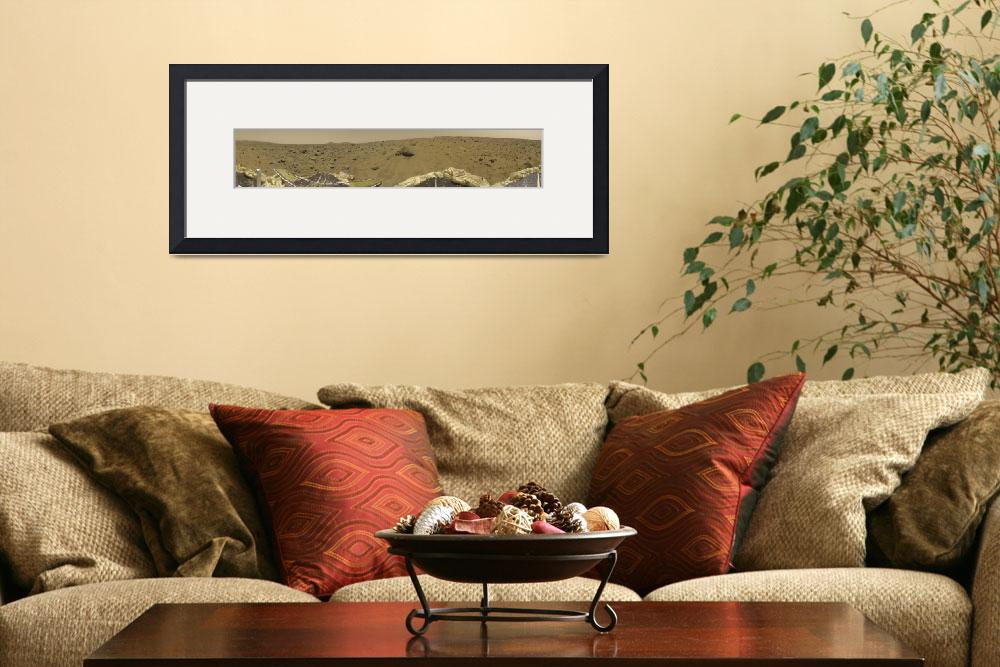 """Panorama of Mars Pathfinder Landing Site&quot  by ArtLoversOnline"