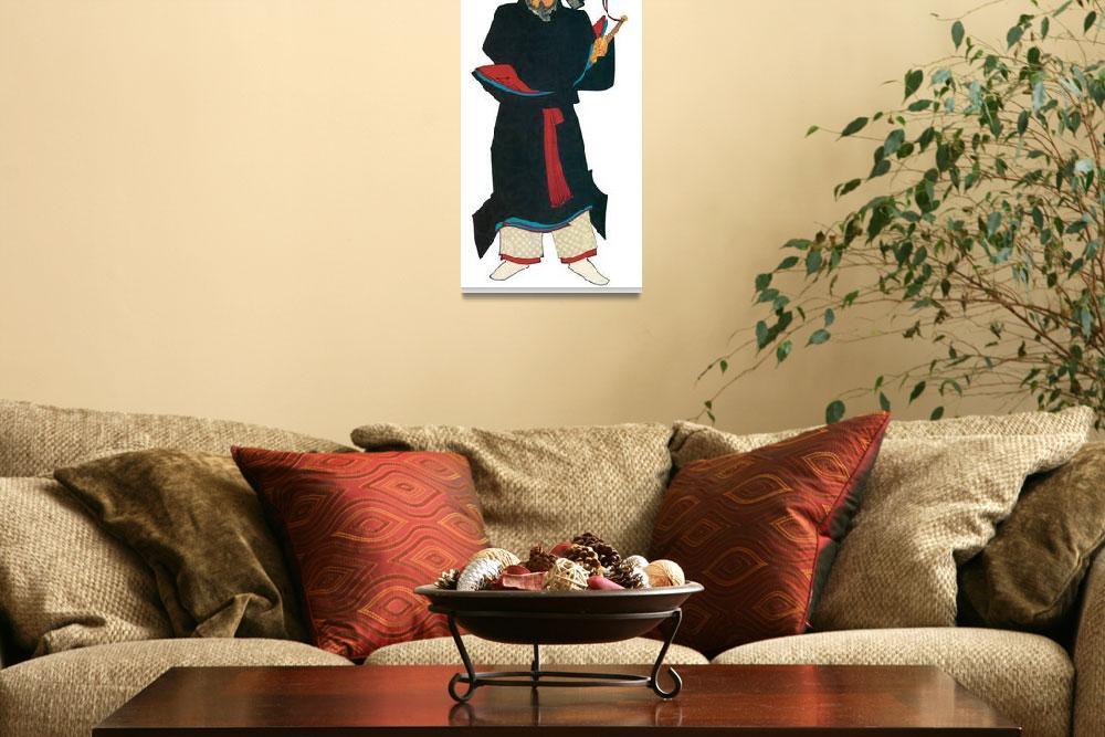 """Japanese Samurai Poster #81&quot  by ArtLoversOnline"