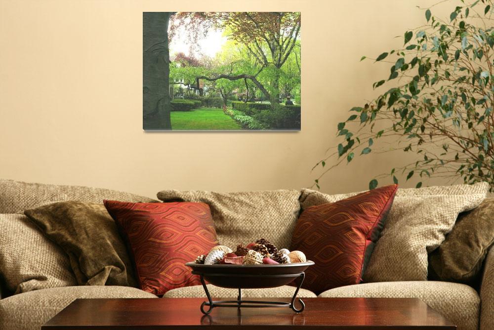 """A Tree Grows in Forest Hills""  (2009) by cherylstuff"