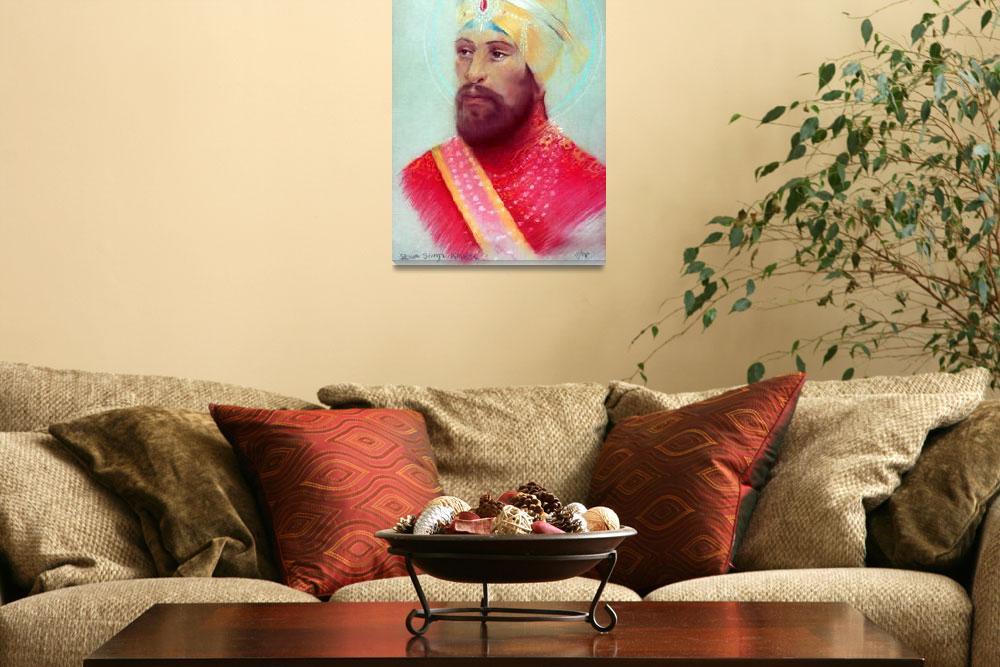 """Guru Gobind Singh 3&quot  by SikhPhotos"
