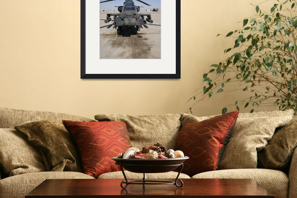 """""""An AH64D Apache Longbow Block III attack helicopte&quot  by stocktrekimages"""