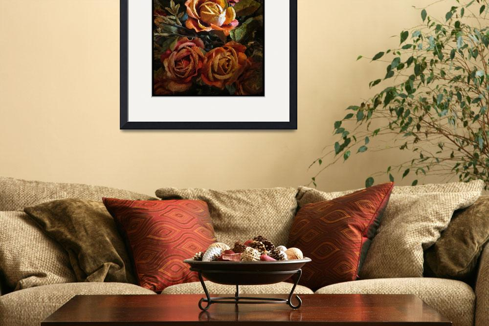"""""""Rose Tapestry&quot  (2010) by JessicaJenney"""