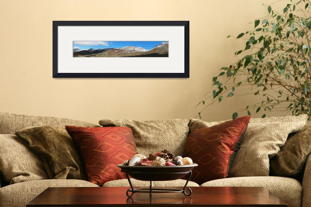 """""""Franklin Mountains&quot  (2008) by MarksClickArt"""