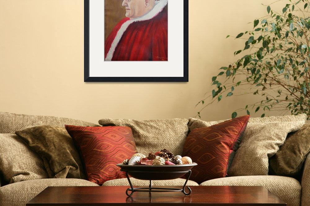 """Portrait of Pope John XXIII - Papa Giovanni XXIII&quot  (1963) by zampedroni"