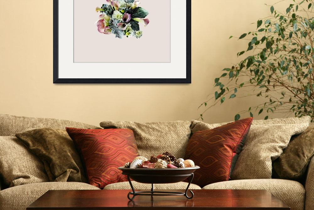 """""""Bouquet With Pink Calla Lilies&quot  by susansartgallery"""