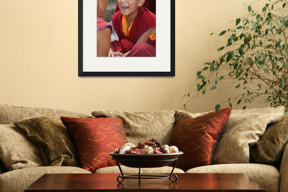 """""""Young Monk in Tibet&quot  by erick"""
