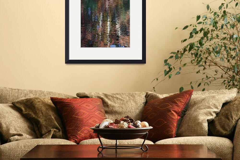 """""""Another Fall Reflection lll&quot  (2012) by bavosiphotoart"""