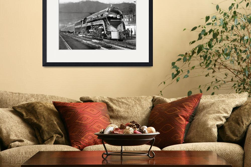 """""""Norfolk & Western class J on display&quot  by KalmbachPublishing"""