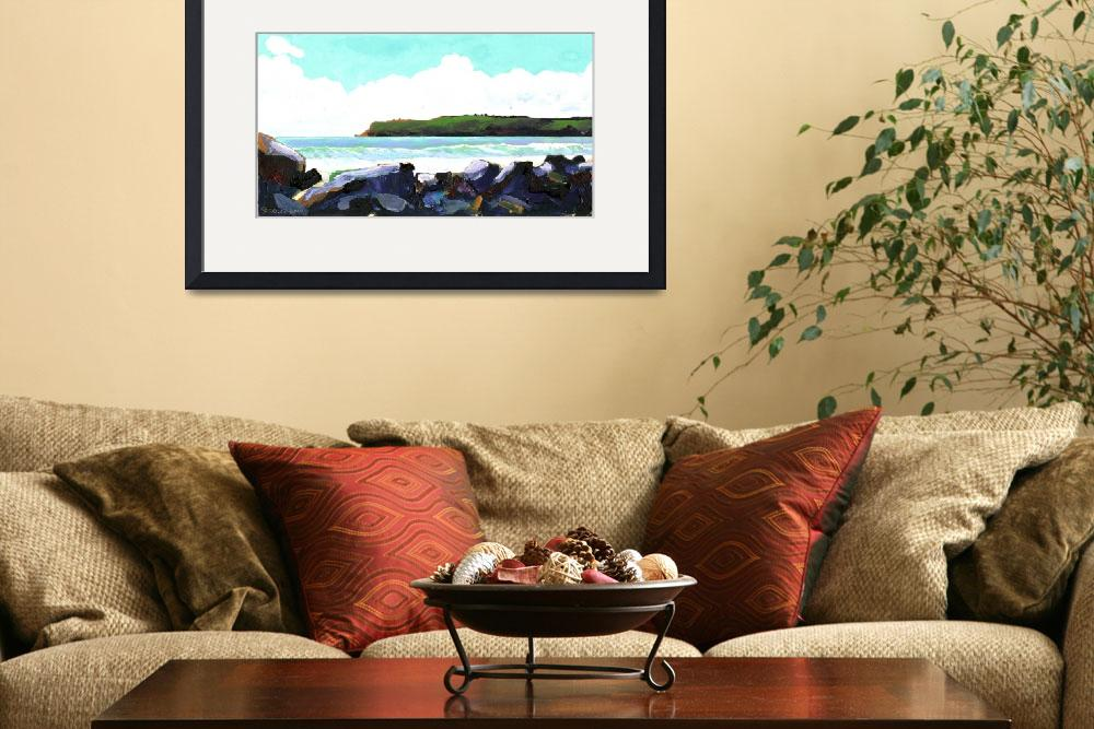 """""""View of Point Loma from Coronado Beach&quot  (2007) by RDRiccoboni"""