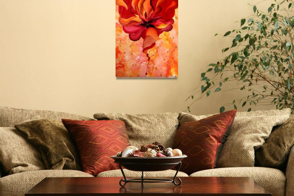 """""""Heart Of Flame""""  (2013) by Lidela"""