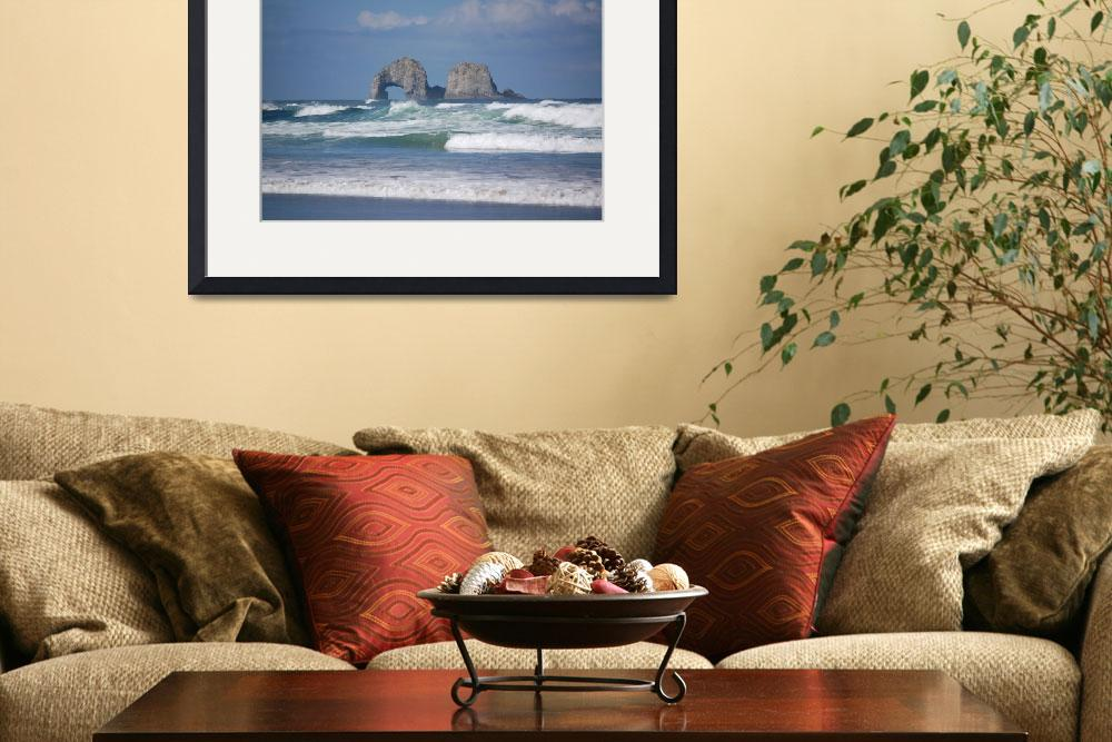 """""""Oregon Coast in April&quot  (2007) by lefty53"""