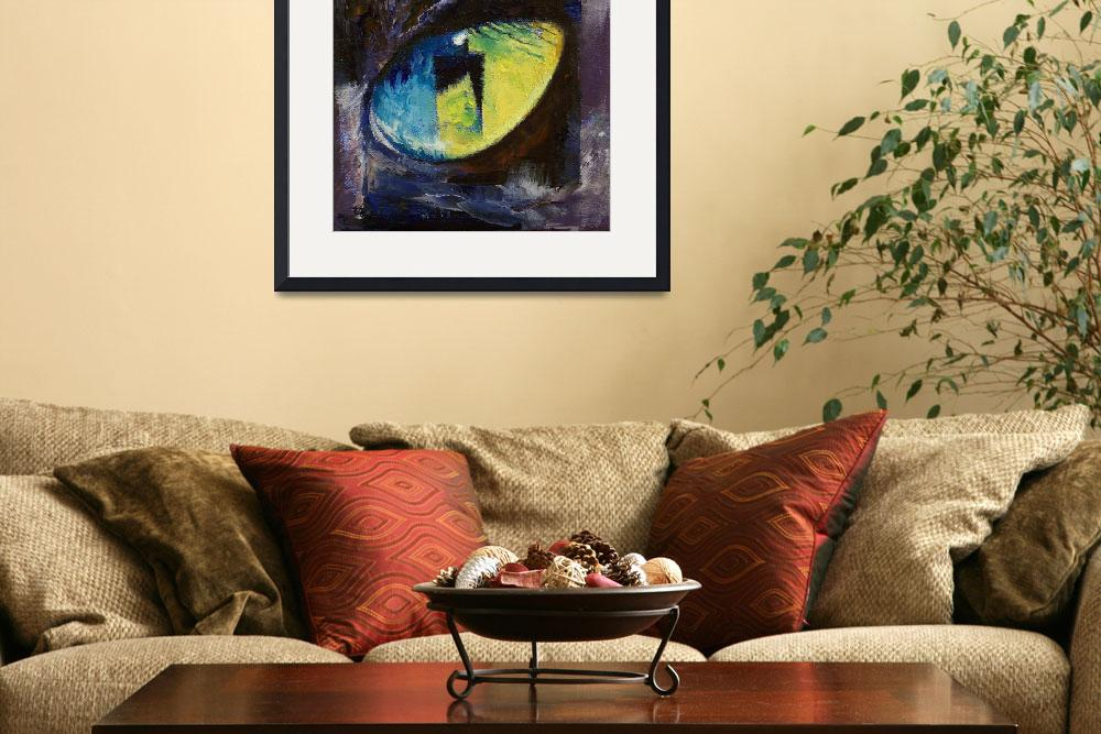 """""""Blue Cat Eye""""  by creese"""