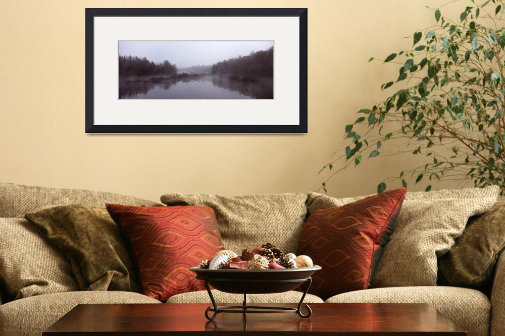 """""""Reflection of trees in water&quot  by Panoramic_Images"""