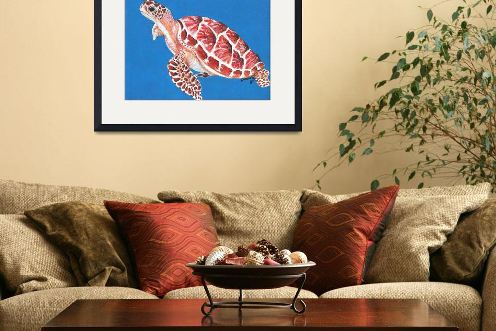 """""""Sea Turtle&quot  (2010) by primalaspects"""