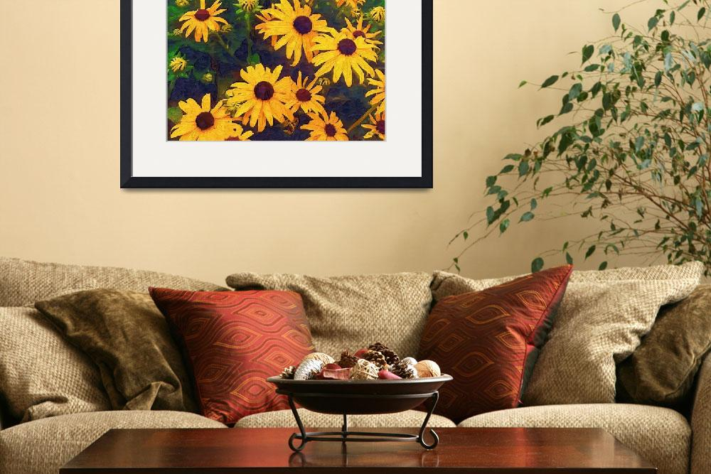 """""""Black Eyed Susans&quot  (2008) by texancharm"""