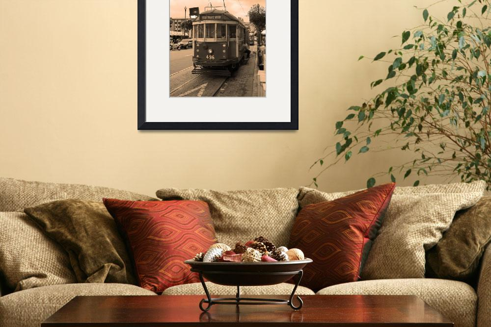 """""""San Francisco Trolley Car 2007&quot  (2007) by Ffooter"""