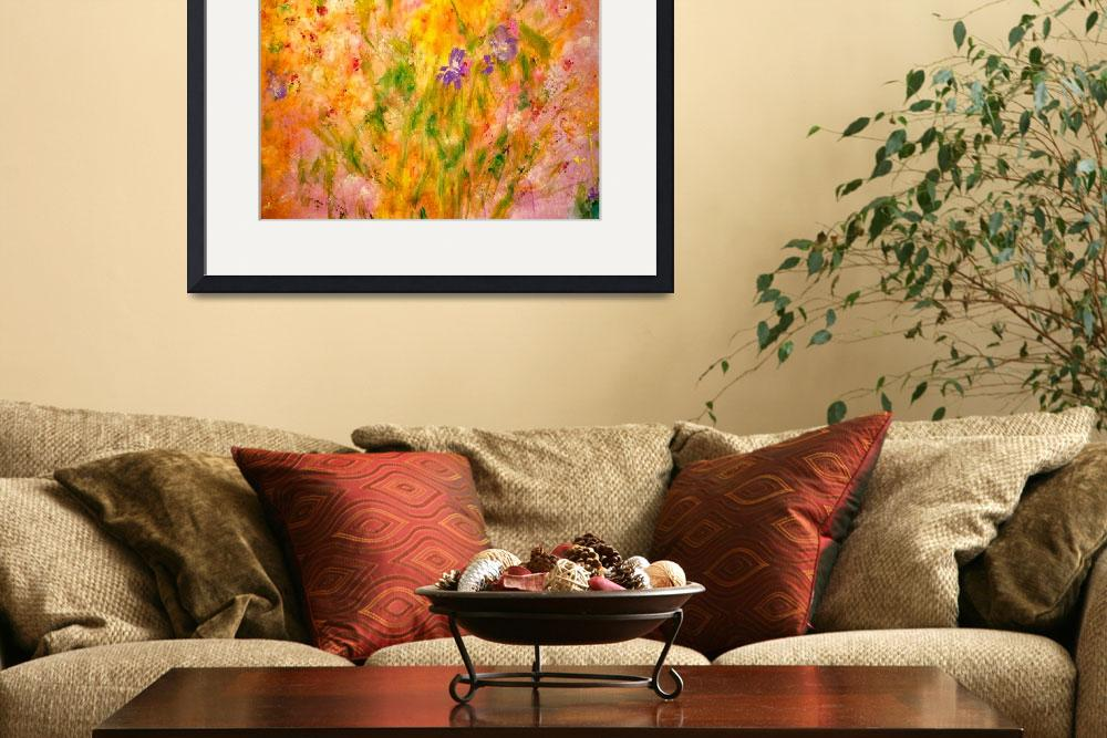 """""""Soft Spring Meadow&quot  (2011) by artbyclaire"""