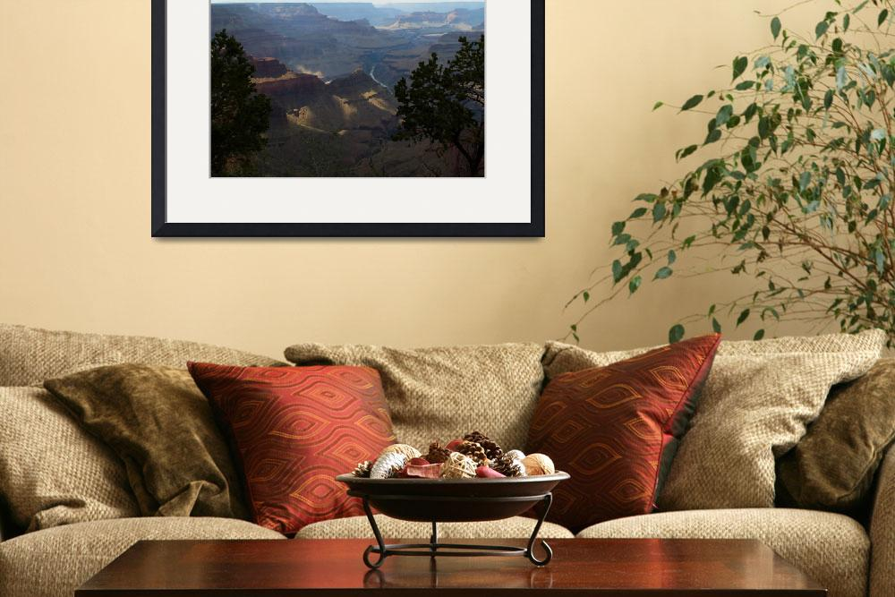 """""""Granite Gorge in the Grand Canyon Print 4726&quot  (2009) by SedonaPrints"""