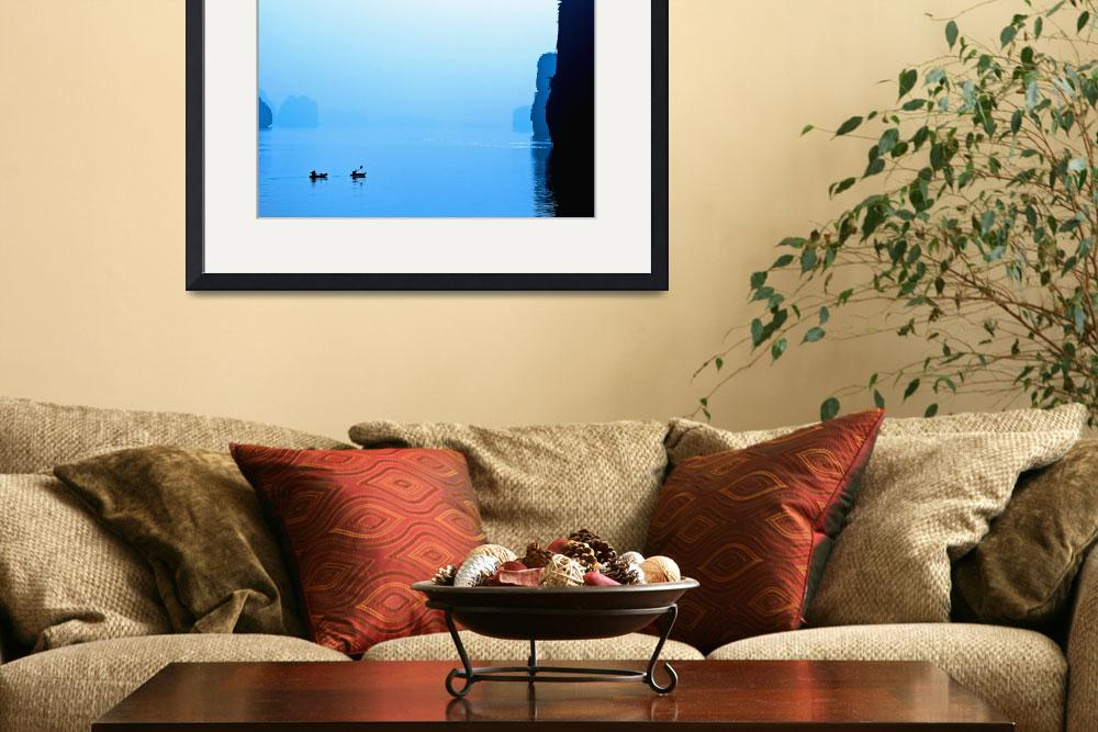 """Kayak on Halong Bay&quot  (2011) by SkipNall"